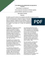 informe sobre salida de campo a sanjuan de tocagua