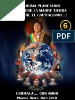 Paradigma planetario ¡O se muere la madre tierra o se muere el capitalismo! Cartilla 6