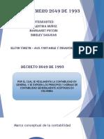Decreto Número 2649 de 1993