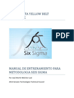 Smx Sensata Yellow Belt