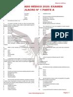 RM 20 - Examen Simulacro 1 A