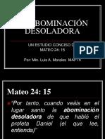 4020900-LA-ABOMINACION-DESOLADORA.ppt