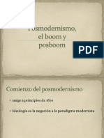 Posmodernismo Boom