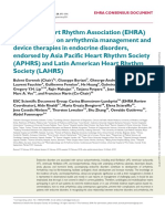 aritmia with endokrin therapy