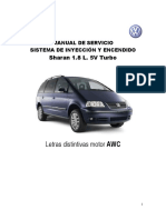 Sharan 1.8 l. Turbo Inyección y Encendido
