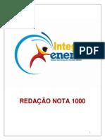 Redação Nota 1000 IE