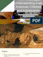 understanding arab american children and adolescents