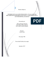 Muestraa Informe Facilito