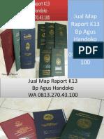 WA 0813.270.43.100, Jual Map Raport K13 di Pinang Sumatra Utara