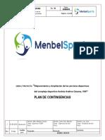 Plan de Contingencia Menbel Sport