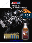 Gasoline fuel additive study