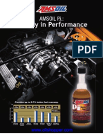 Gasoline fuel additive study