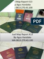 WA 0813.270.43.100, Jual Harga Sampul Raport K13 SD di Pinang Sumatra Utara