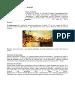 Resumo Literário (1500-2000)