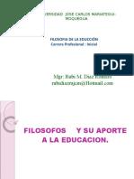 S-02 Filosofos y Sus Aportes a La Educ.