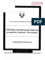 VIII Pleno Jurisdicional Supremo Laboral (Peruweek.pe)