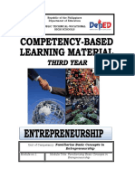 Y3 Module 1 Familiarize Basic Concepts of Entrepreneurship