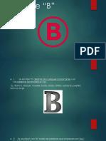 uso de b