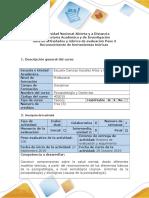 Psicopatologia y Contextos Guía de Actividades y Rúbrica de Evaluación Del Curso Paso 3 Reconocimiento de Herramientas Teóricas