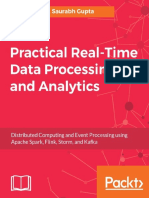 Real-time Data Processing & Analytics - Distributed Computing & Event Processing Using Spark, Flink, Storm, Kafka