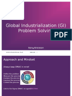 Global Industrialization (GI) Problem Solving