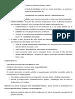 La Evaluacion Psicologica CAP 2