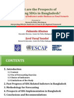 What Are the Prospects of Achieving SDGs in Bangladesh Fahmida Khatun