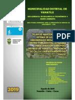 005 Plan de Mantenimiento (Paltaybamba Chico - Paucartambuyoc)