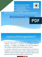 Presentación BIOMAGNETISMO