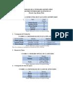 Cronograma de Trabajo Matematicas Sbv