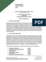 Instructivo Prepratorio facultad de artes Universidad Distrital