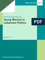 Young Women in Lebanese Politics
