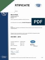 9001 Matrix Certificate