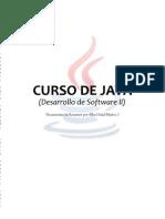 Curso JAVA (Desarrollo de Software II) - Documentación Resumen