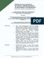 Sk Pedoman Pengorganisasian Unit Pengelola Sistem Informasi Manajemen Rumah Sakit Simrs 11 Januari 2018