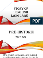 History of English Language G-2 LEGIT