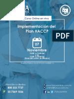 Implementación Del Plan HACCP