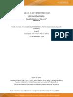 Taller de Legislación Laboral - Actividad 6