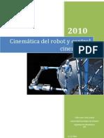Cinematic A Del Robot y Control Cinematico