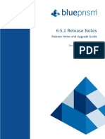 Blue Prism Release Notes 6.5.1_4.Pd