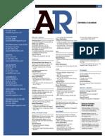 AR 2011 Editorial Calendar