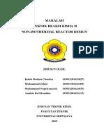 Bab 8 Non Isothermal Reaktor Design