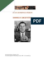 PERON Juan Domingo El Proyecto Nacional Mi Test Amen To Politico