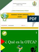 ORGANISMO DE TRATADO DE COORPERACION AMAZONICA