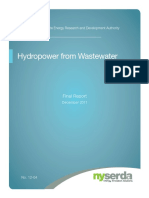 Hydropower From Wastewater