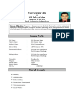 compilited cv