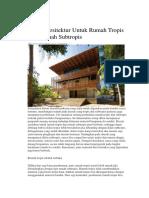 Desain Arsitektur Untuk Rumah Tropis Dan Rumah Subtropis bahan.docx