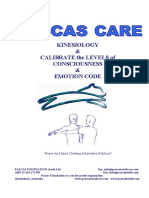 Pascas Care Kinesiology Testing