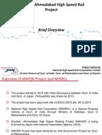 Mumbai Ahmadabad High Speed Rail Project