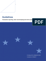 2016-1452 Guidelines Mifid II Transaction Reporting